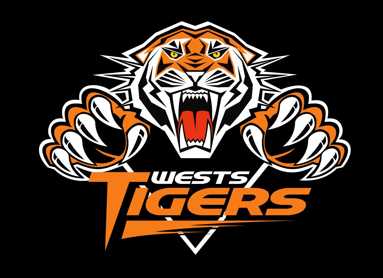 Image result for wests tigers logo