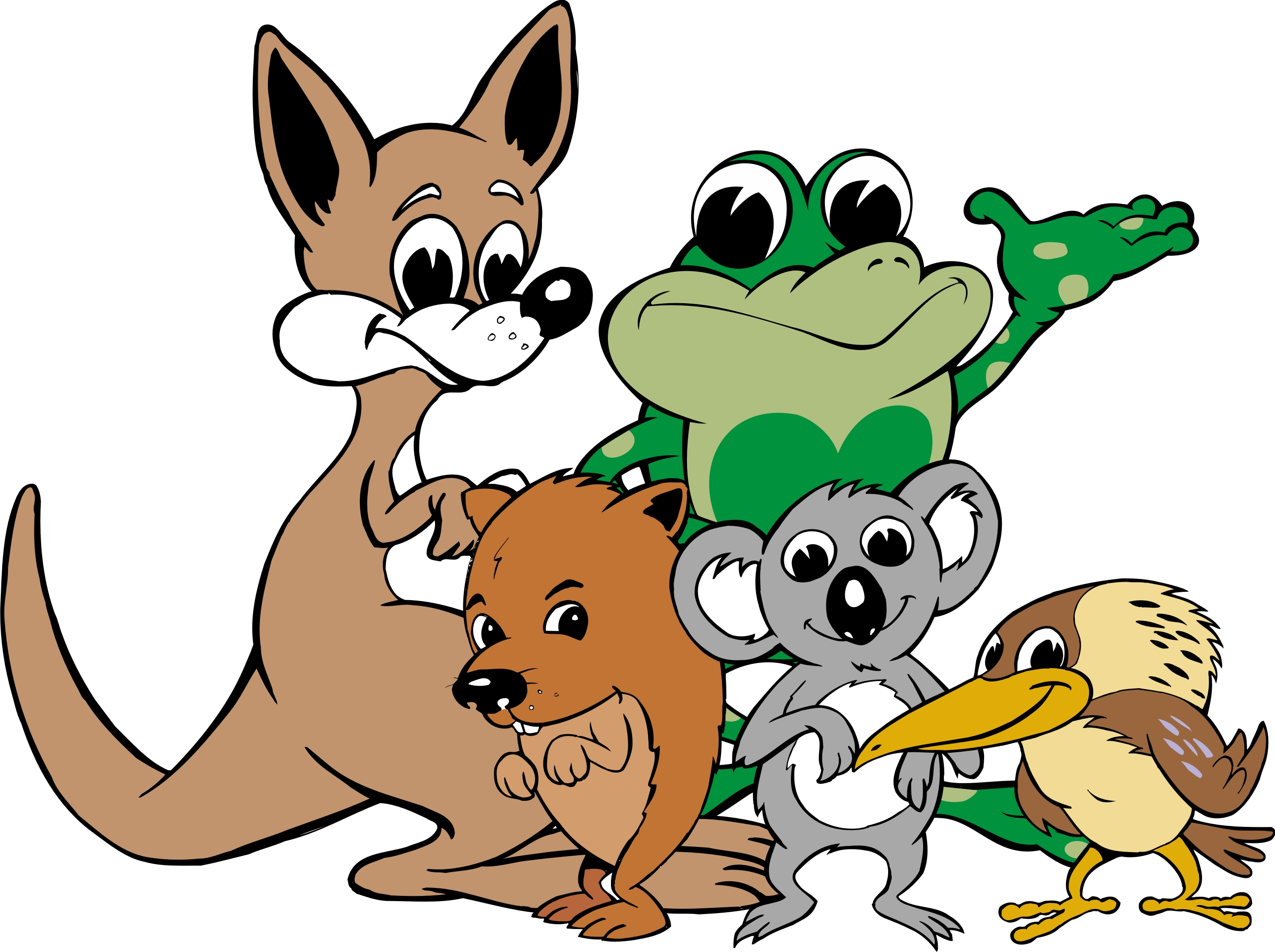 CROAKY AND FRIENDS