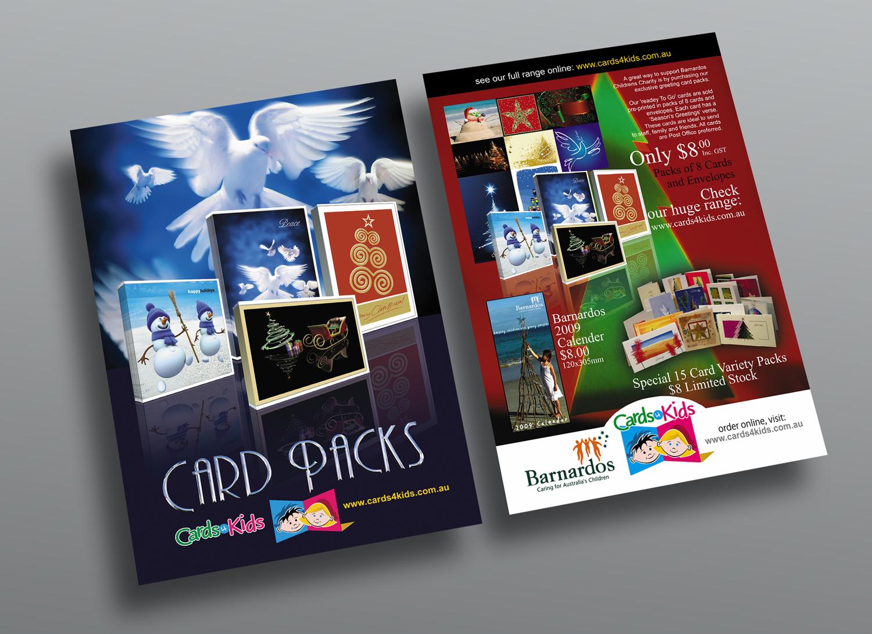 Cards 4 Kids Flyer T Rex Art